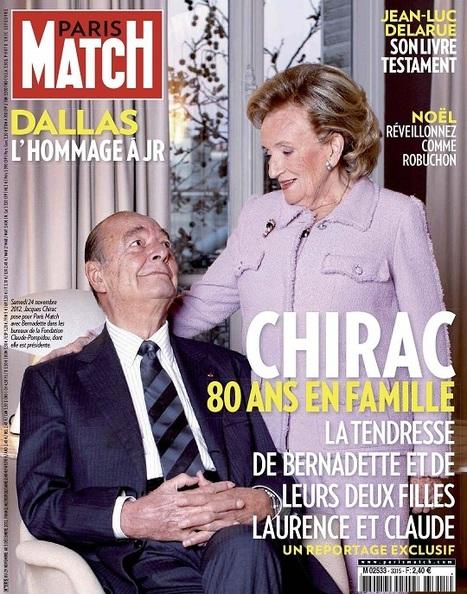 Paris Match N°3315 du 29 Novembre au 5 Décembre 2012...!!! | Paris match | Scoop.it