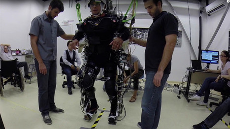 Brain-controlled robotics breakthrough sees paralysed patients regain mobility (VIDEOS)   Cool New Tech   Scoop.it