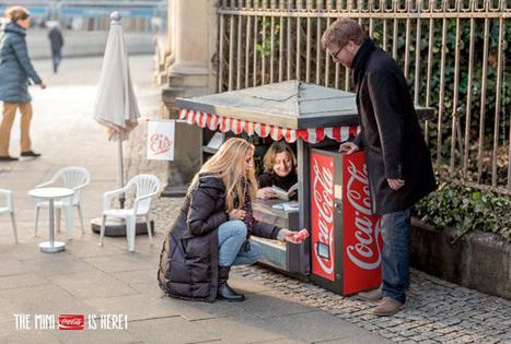 En Allemagne, Coca Cola crée des mini-kiosques pour la promo de ses mini-canettes | streetmarketing | Scoop.it