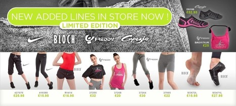 Free Delivery On Dancewear Orders Over £60 - Dance Wear Up To 50% Off - Dancewear From Dance Direct® | Dance! | Scoop.it