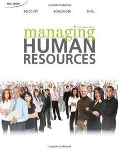 Testbank for Managing Human Resources 6th Canadian Edition by Belcourt ISBN 0176501789 9780176501785 | Test Bank Online | human resources management | Scoop.it