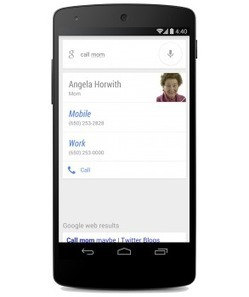 Google Search update allows you to call or text family without even speaking their name   L'actualité du monde des tablettes   Scoop.it