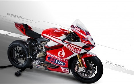 TEAM SBK DUCATI ALSTARE 2013 1199 PANIGALE R LIVERY | Ducati.net | Desmopro News | Scoop.it