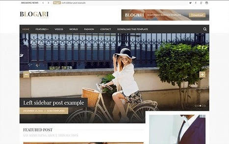 BLOGARI | Blogger themes | Scoop.it