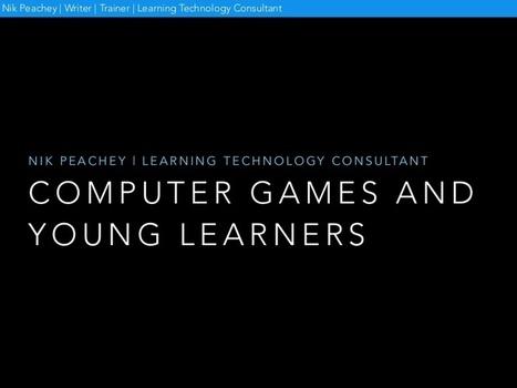 Computer games and young learners | Mundos Virtuales, Educacion Conectada y Aprendizaje de Lenguas | Scoop.it
