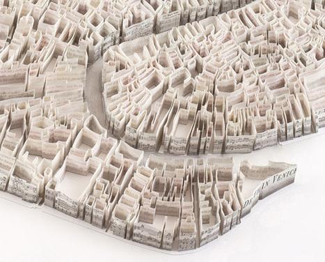 Exquisite Paper Sculptures Map Historic Events | visual data | Scoop.it