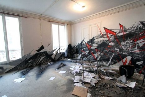 Katre Installation Les Bains Douches Paris | art move | Scoop.it