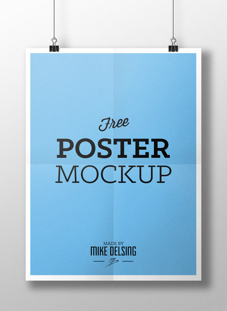 25 Free PSD Templates to Mockup Your Print Designs | Web Design & Development | Scoop.it