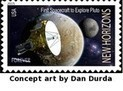 USPS: Honor New Horizons and the Exploration of Pluto with a USPS Stamp | Exploring Amateur Astronomy | Scoop.it
