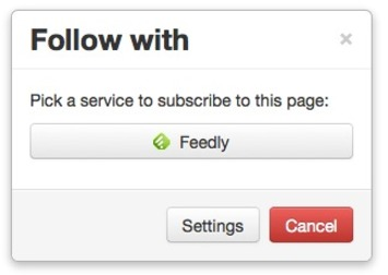 Universal Subscribe and Follow Button For Any Website: SubToMe | Readin', 'Ritin', and (Publishing) 'Rithmetic | Scoop.it