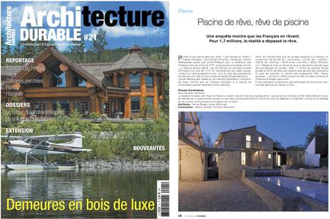 """""""Magazine Architecture DURABLE N°21- Maison bioclimatique à Auray ( avril mai juin 2015 )   Développement durable dans le bâtiment   Scoop.it"""