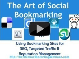 The Art of Social Bookmarking | Allround Social Media Marketing | Scoop.it