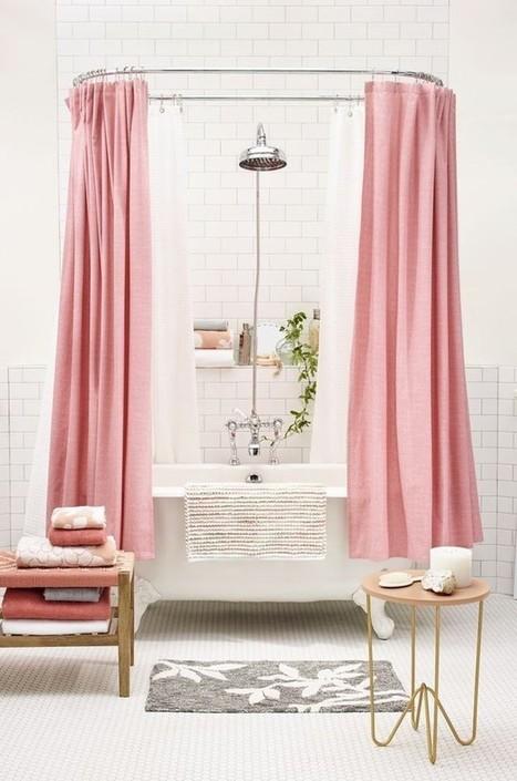 Apporter de la couleur dans la salle de bain – Cocon de décoration: le blog | Décoration | Scoop.it