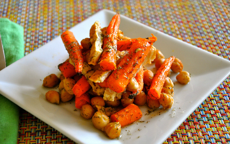 Vegan Snack Attack - Roasted Carrots & Chickpeas | My Vegan recipes | Scoop.it