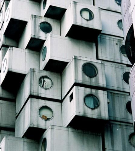 AD Classics: Nakagin Capsule Tower / Kisho Kurokawa #architecture | Architecture and Photography | Scoop.it