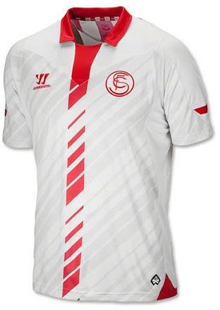 Les nouveaux maillots du FC Séville pour 2013/2014 | Maillots 2014 2015 | Scoop.it
