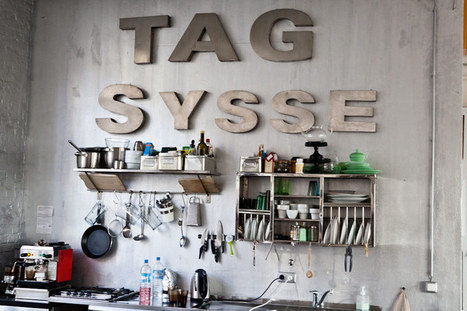 Big, bold lettering | NIU. Interiors & homes | Scoop.it