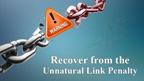 The Definitive Guide to Recovery from the Unnatural Link Penalty - Search Engine Journal | Content Marketing for Big and Small Business Enterprises | Scoop.it