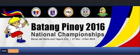 Batang Pinoy and PNG Dates (updated) - Pinoyathletics.info | Other Sports | Scoop.it