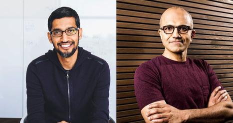 Microsoft et Google signent un curieux traité de paix | Stratégie(s) d'entreprise | Scoop.it