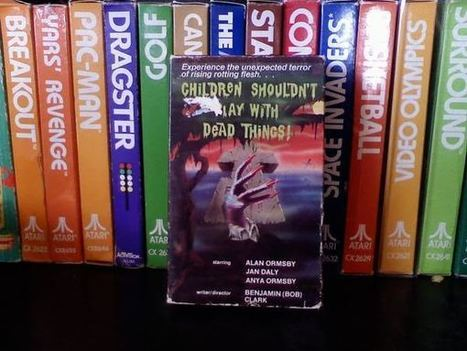 Zombie Logic: Poetry, Politics, Webcomics, Movies, Sports, Art, and Zombies: Children Shouldn't Play With Dead Things Beta Cassette | Children Shouldn't Play With Dead Things | Scoop.it