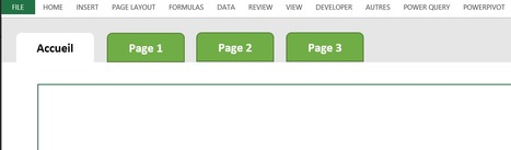 Et si votre fichier Excel ressemblait à une application?   Mes ressources personnelles   Scoop.it