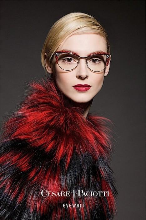 Cesare Paciotti Eyewear Campaign 2014 ft. Anastasia G | CHICS & FASHION | Scoop.it