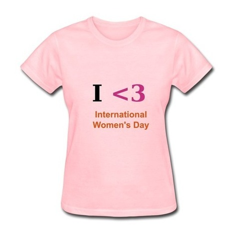 Cheap I Love - Red Pink Standard Weight T-shirt For Women High Quality-Love T-shirts |HICustom | My Custom World,From Hicustom!!! | Scoop.it