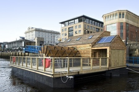 Flow: The musical watermill played by the river itself   contemporary art uk   Scoop.it