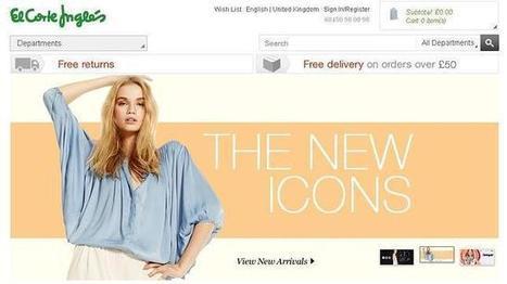 El Corte Inglés lanza su tienda «online» en Reino Unido, Irlanda y ... - ABC.es | Marketing | Scoop.it
