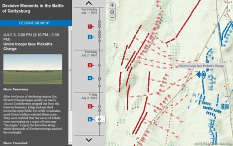 Re-examining the Battle of Gettysburg with GIS | Social Studies Education | Scoop.it