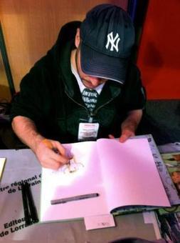 Seb Cazes était au FIBD | Bande dessinée et illustrations | Scoop.it