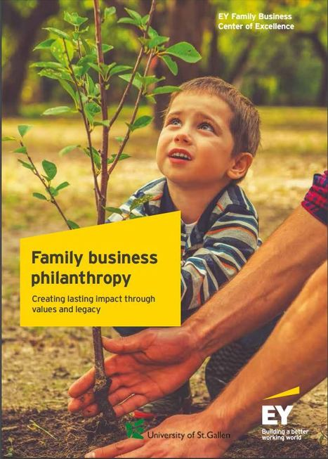 News - EY - Impact investing central to family business philanthropy | Impact Investing and Inclusive Business | Scoop.it