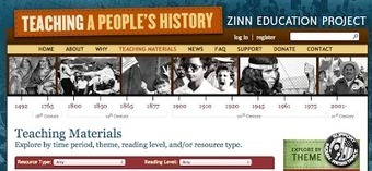 Free Technology for Teachers: Free Teaching Materials from the Zinn Education Project | Enseñar Geografía e Historia en Secundaria | Scoop.it