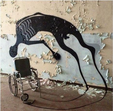 Italian City Gets Super-Creepy Art Inside an Abandoned Mental Hospital | Art for art's sake... | Scoop.it