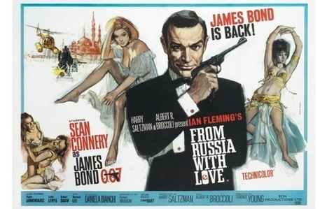 James Bond 007: revisiting From Russia With Love - Den Of Geek | Michael Petersen photography | Scoop.it