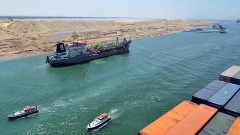 L'Egypte se prépare à inaugurer son nouveau canal de Suez | SandyPims | Scoop.it