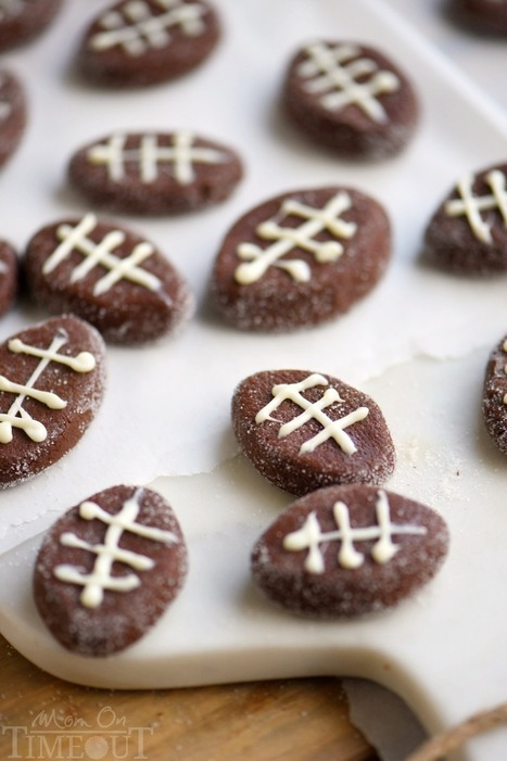 Easy Chocolate Football Patties - Mom On Timeout | Passion for Cooking | Scoop.it