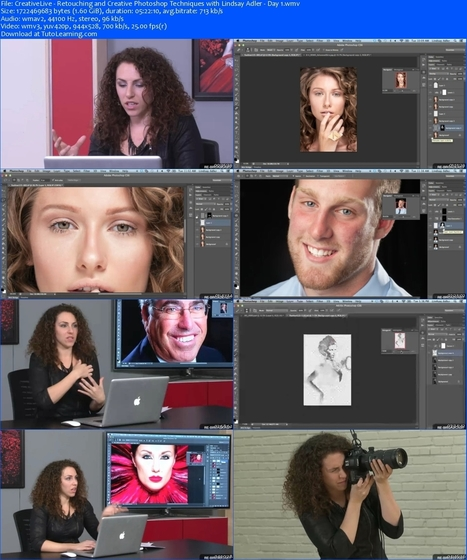 CreativeLive – Retouching and Creative Photoshop Techniques | Pinterest and Social Media information | Scoop.it