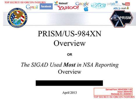 NSA slides explain the PRISM data-collection program - The Washington Post | Poder-En-Red | Scoop.it
