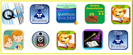 8 Excellent iPad Apps to Enhance Students Reading Comprehension Skills | Technology in Education | Scoop.it