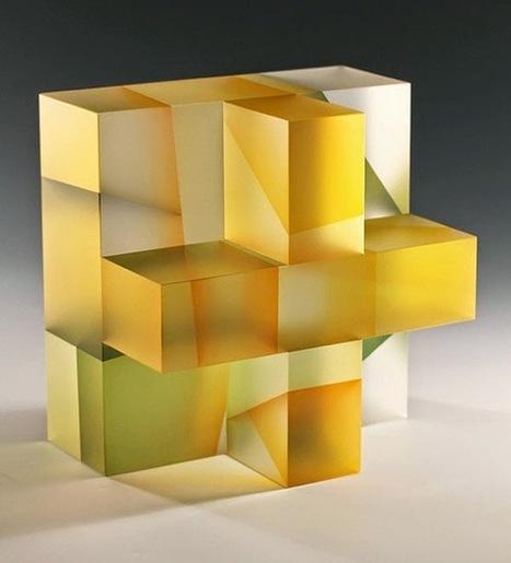 Segmentation: Glass Sculptures by Jiyong Lee - Faith is Torment   Nartique Art Glass News   Scoop.it