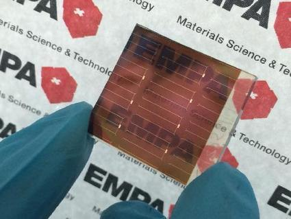 Tandem solar cells are simply better | Science Codex | Heron | Scoop.it
