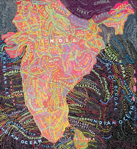 Paula Scher Maps   The Arts & Education   Scoop.it