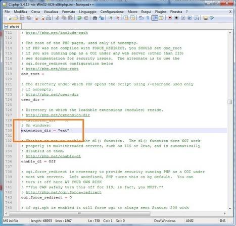 Lavori e Lavoretti: Ambiente di Sviluppo: Installare PHP sotto IIS 7 ... | Tech Tips informatici | Scoop.it