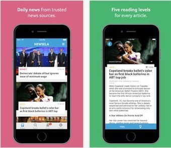 Free Technology for Teachers: Newsela's iPad App Offers News Stories Sorted by Reading Level | Technology and language learning | Scoop.it