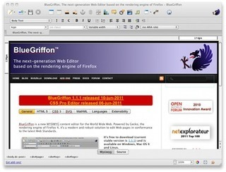 BlueGriffon, The next-generation Web Editor based on the rendering engine of Firefox | CDI de Touscayrats | Scoop.it