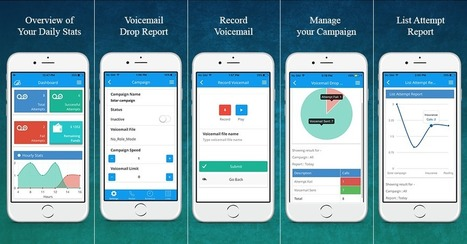 Go-Portable With Ringless Voicemail Mobile App | Cloud Based Auto Dialer | Scoop.it