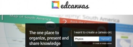 Edcanvas permite compartir contenido en la comunidad educativa Edmodo | Recull diari | Scoop.it
