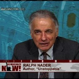 "Ralph Nader on TPP, GM Recall, Nuclear Power & the ""Unstoppable"" Left-Right Anti-Corporate Movement 